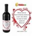 Вино с персонализиран етикет